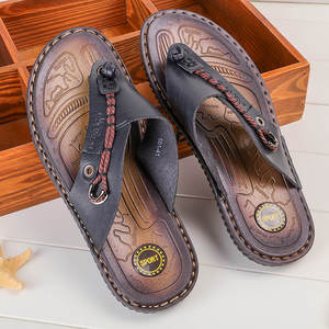 KANCOOLD Shoes Summer Men Black Beach Slippers Sandale