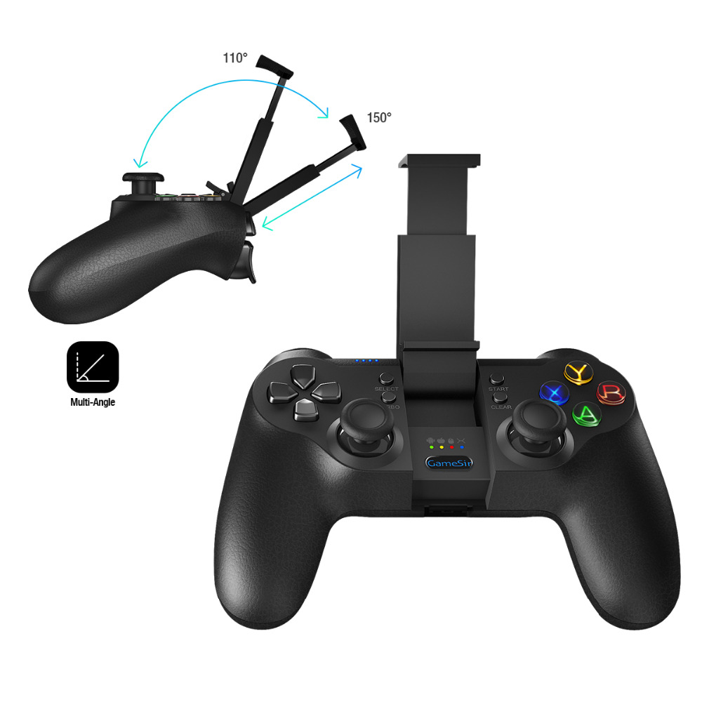 GameSir T1 Travail avec DJI Drone/Tello, bluetooth Android Contrôleur/USB filaire PC Contrôleur Gamepad/PS3 Contrôleur
