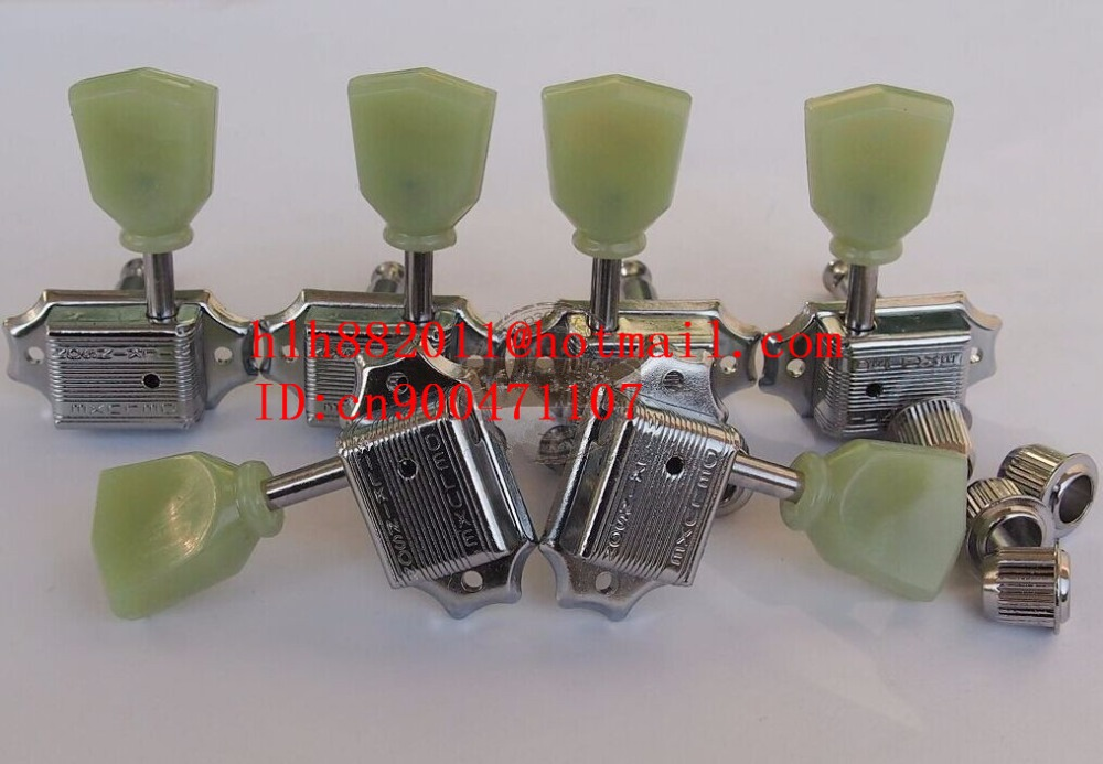 free shipping new electric guitar jade tuning peg in chrome guitar button  WJ44   N21 free shipping new electric guitar jade tuning peg in gold guitar button wj44 n22