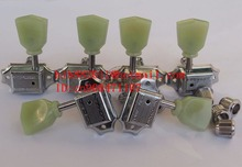 free shipping new electric guitar jade tuning peg in chrome guitar button  WJ44   N21