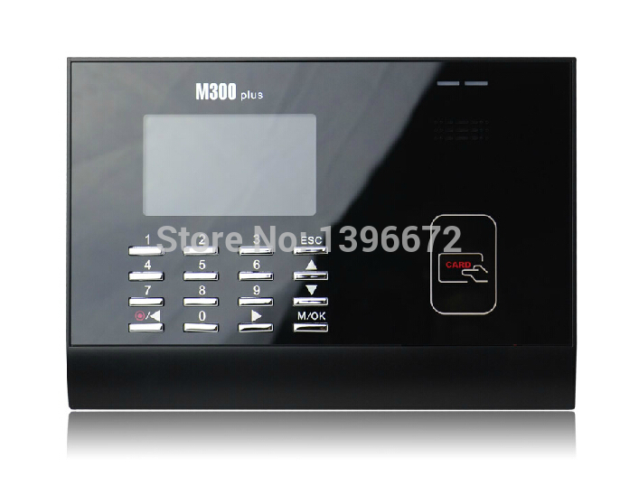 ZK M300Plus TCP/IP 125Khz RFID Card Time Attendance Punch Card Time clock With Free Software 125khz proximity rfid card time attendance 125khz em card time clock with tcp ip