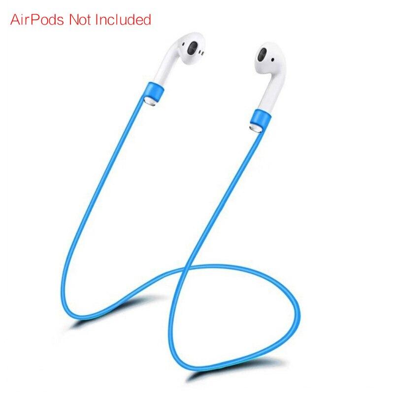 Ketten Kopfhörer Kopfhörer Strap Für Apple Airpods Anti Verloren Band Schleife String Seil Für Air Schoten Silikon Kabel GroßEr Ausverkauf