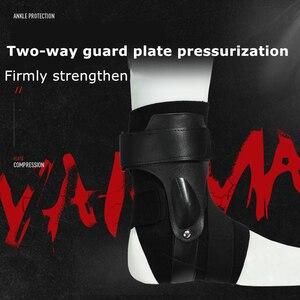 Image 3 - 1 Pc Sport Enkel Ondersteuning Brace Elastische Fitness Enkel Strap Stabilizer Bandage Retainer Voor Voet Orthese Verstuikingen Spalk Protector