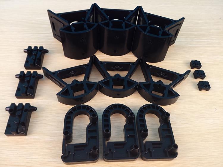 все цены на  Kossel Delta 3D printer plastic injection parts upgrade end effector Bottom/top vertex Vertical carriage endstop holder  онлайн