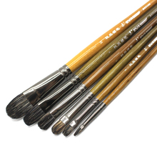 Eval High Grade Ferret Badger Hair Professional Acrylic Oil Paint Brush Set Artist Brushes For Art Chinese Painting Supplies
