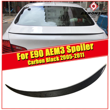 M3 Style Car Styling Carbon Fiber Auto Trunk Rear Spoiler Lip Wing For BMW E90 325i 330i 335i 320d 325d 2005-2011