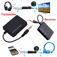 Mayitr 1pc Wireless Bluetooth 3.0V Stereo 3.5mm Audio Music Receiver/Transmitter Adapter Dongle FOR TV Computer MP3 PSP