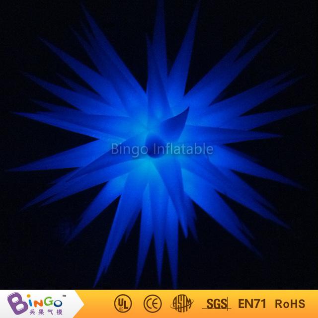 Envío Gratuito color cambiante luz llevada Inflable inflable estrella BG-A0362 juguete