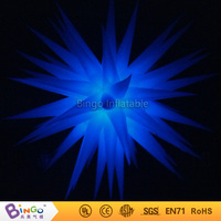 Free Shipping colour changing 2.4 Meters Inflatable led light inflatable star hot sale blow up stars decorations BG A0362 toy