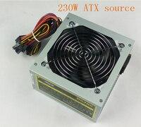 230 Watt For Intel AMD PC 12V ATX PC Power Supply ATX Source With Cpu High