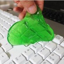 Волшебный от пыли пылесоса соединение супер чистый Slimy гель для портативных ПК Компьютерная клавиатура D4