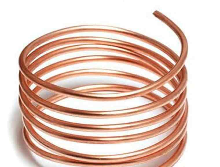 10MM*1mm Red Copper Pipe tube Capillary Tube Fridge And Air Conditioning For Refrigeration