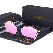 Luxury Women HD Polarized Sunglasses Fashion Cat Eye Ladies Vintage Brand Designer Female Sun Glasses oculos gafas