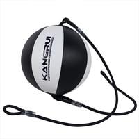 2016 Black White Boxing Training Equipment Punching Ball Speed Ball Bag Pear Ball Boxing Ball Bag