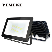 Ultrathin LED Flood Light 180-265V Waterproof IP66 10W 30W 50W 100W 150W Led Working Outdoor Lighting Refletor LED Lamp(China)