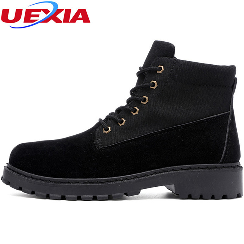 UEXIA New Military Boot Men Boots Tactical Casual Male Shoes Men's Timber Army Combat Winter Footwear Askeri bot Casual Mountain