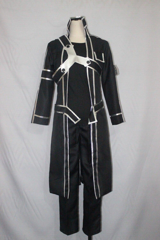 2019-Sword-Art-Online-SAO-Cosplay-Costume-Kazuto-Kirigaya-Kirito-Halloween-Full-Sets-Outfit-Set-With