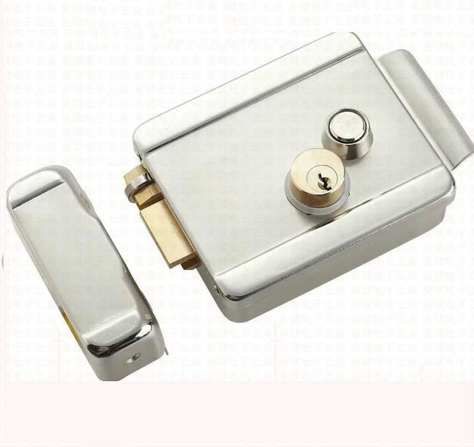 Electric Control Lock Electronic Magnetic Door Lock For 12V DC Access Control System