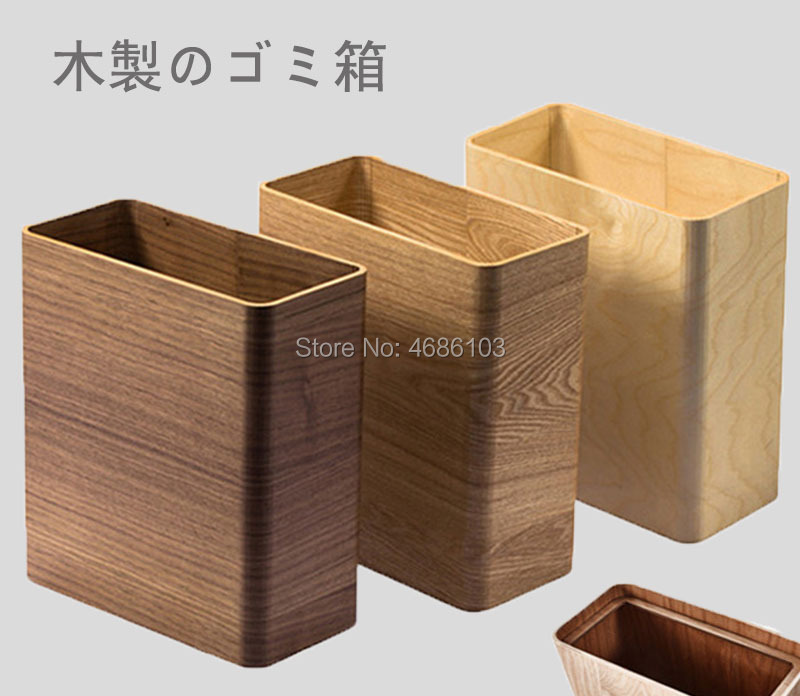 US $61.75 5% OFF|Japanese Style Trash Can Shiatsu Bathroom Trash Can Simple  Creative Waste Cans and kitchen garbage cans in Living Room Bedroom-in ...