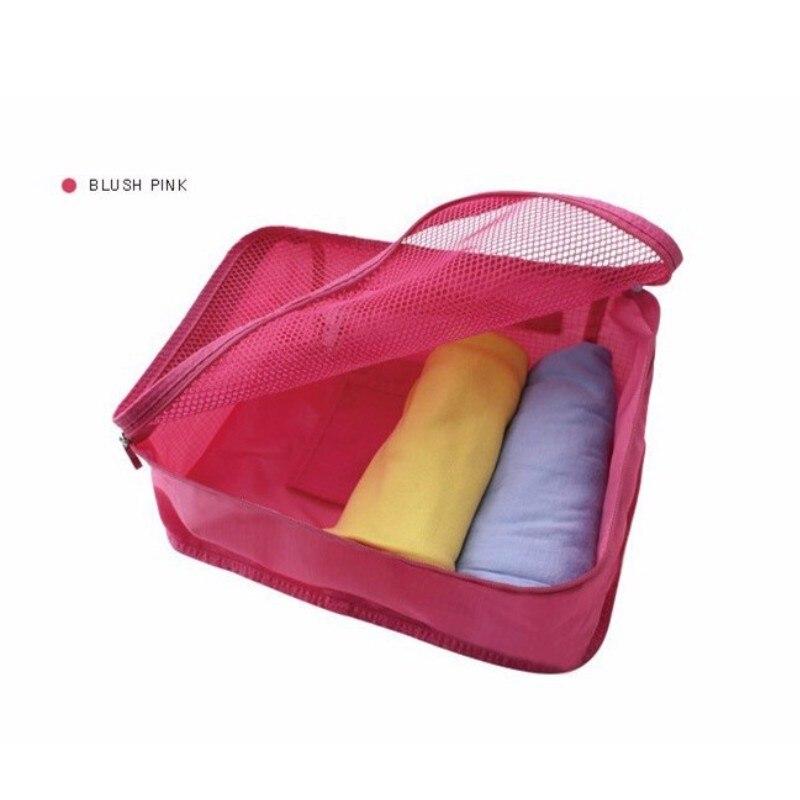 Traveling Organize Bag Foldable Storage Box Finishing Clothing Closet Organizer Wardrobe Suitcase Intimate Packing Cubes