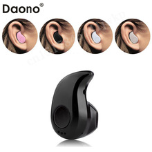 Daono S530 Mini Style Wireless Bluetooth Headphone V4.0 Stealth Earphone Phone Headset Hand