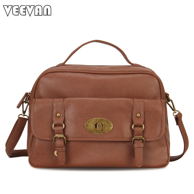 designer messenger bags for women a9kl  2017 Large Ladies Handbags Vintage Women Messenger Bag Designer Leather  Shoulder Bags Crossbody Bags Female Tote