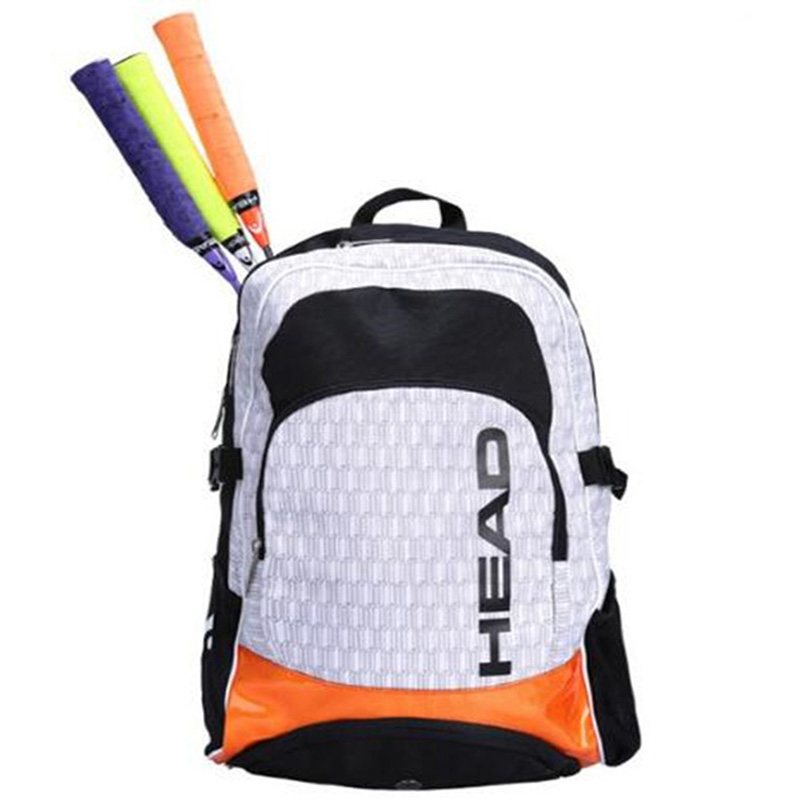 цены Head Tennis Racket Bag Double Shoulder Backpack With Independent Shoe Bag Outdoor Sports Training Hiking Can Hold 2-3 Rackets