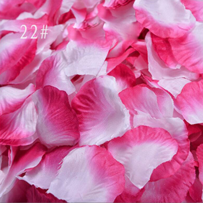 3000pcs/Lot Silk Rose Petals Leaves Artificial Flowers Petals for Romantic Wedding Decoration Party Decor Festival Table Decors