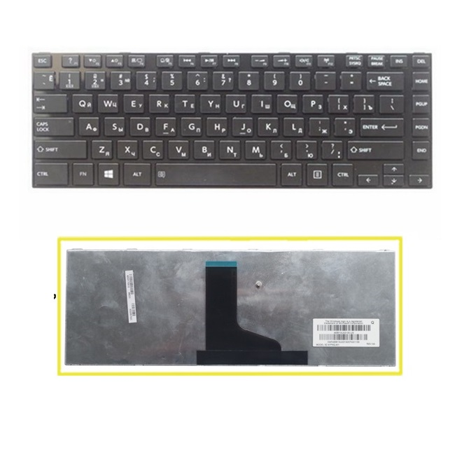 SSEA New RU Russian Keyboard for <font><b>TOSHIBA</b></font> <font><b>L800</b></font> L800D L805 L830 L835 L840 L845 C800 C840 C845 laptop Free Shipping image