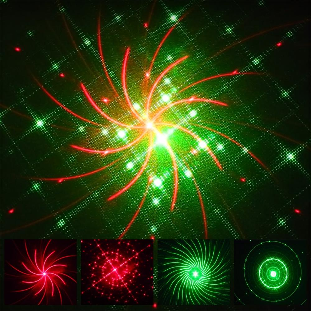 Işıklar ve Aydınlatma'ten Çim Lambaları'de QQ Yumurta Şekli Kırmızı ve Yeşil Kırmızı ve Mavi Galaxy Lazer Duş lazer ışığı projektörü Tatil Pırıltı Yıldız Işıkları Bahçe Dekorasyon title=