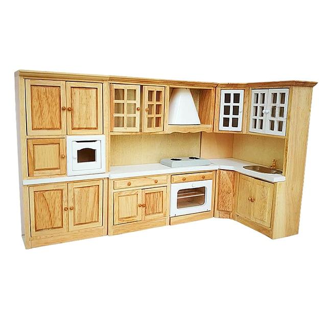 1:12 Dollhouse miniatura muebles cocina comedor vitrina estante de ...
