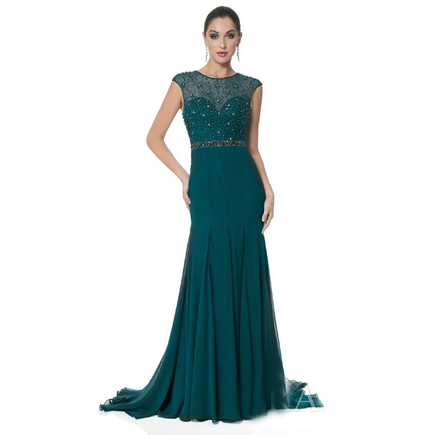 Popular Dark Green Evening Gown-Buy Cheap Dark Green Evening Gown ...
