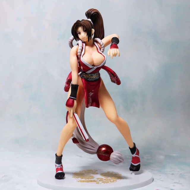 24cm The King Of Fighters Mai Shiranui Sexy PVC Figure Collectible Model Toy