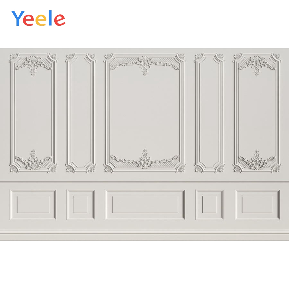 Yeele Simple Interior White Wall Self Portrait Show Personalized Photographic Backdrops Photography Backgrounds For Photo Studio in Background from Consumer Electronics