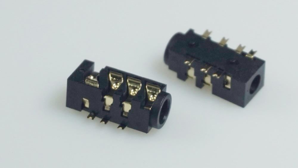 Aliexpress.com : Buy 10 Phone TRRS Jack 3.5 mm 7 pin audio socket 4 ...