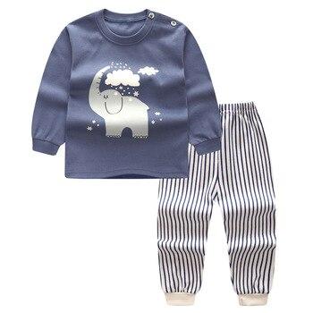 Высокое качество мультфильм милые мальчики одежда наборы хлопка младенца L2707-L2746