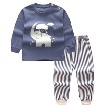 High quality Cartoon cute Boys Clothes cotton Baby's Sets L2707-L2746