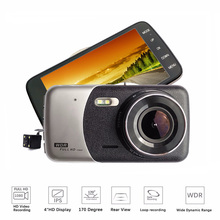 4.0 Inch IPS Screen Car DVR Night Vision Car Camera T810 Oncam Dash Camera Full HD1080P Video Dual Lens Dash Cam