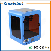Createbot Mini 3D Printer With Touch Screen Single Extruder Heatbed 1 Roll Filament Gift Free Shipping