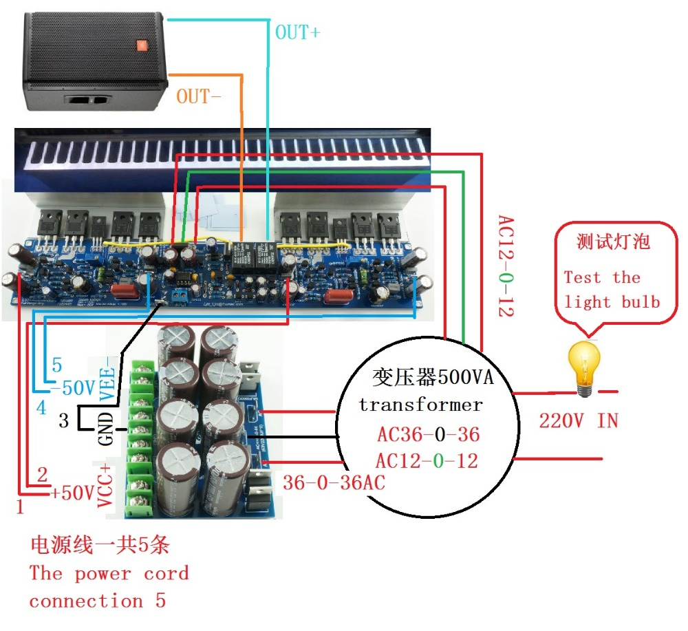 L50 500w Mono 8ohm Full Bridge Irfp140n Irfp9140n Power Audio 300 Watt Class D Amplifier Board Tas5613 300w Amp In From Consumer Electronics On Alibaba Group