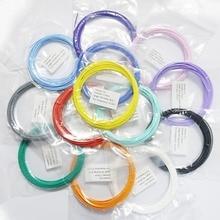 65 м 13 Цветов 1.75 мм нити dewang X4 низкая Температура 3D ручки пластиковые принтер Материал pcl нитей
