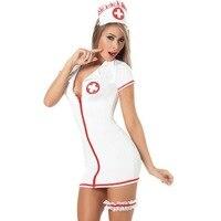 Sexy Womens Sleepwear Nurse Sexy Nurse Costumes Halloween Uniform Sexy Nurse Lingerie Cosplay Uniform Costume Doctor