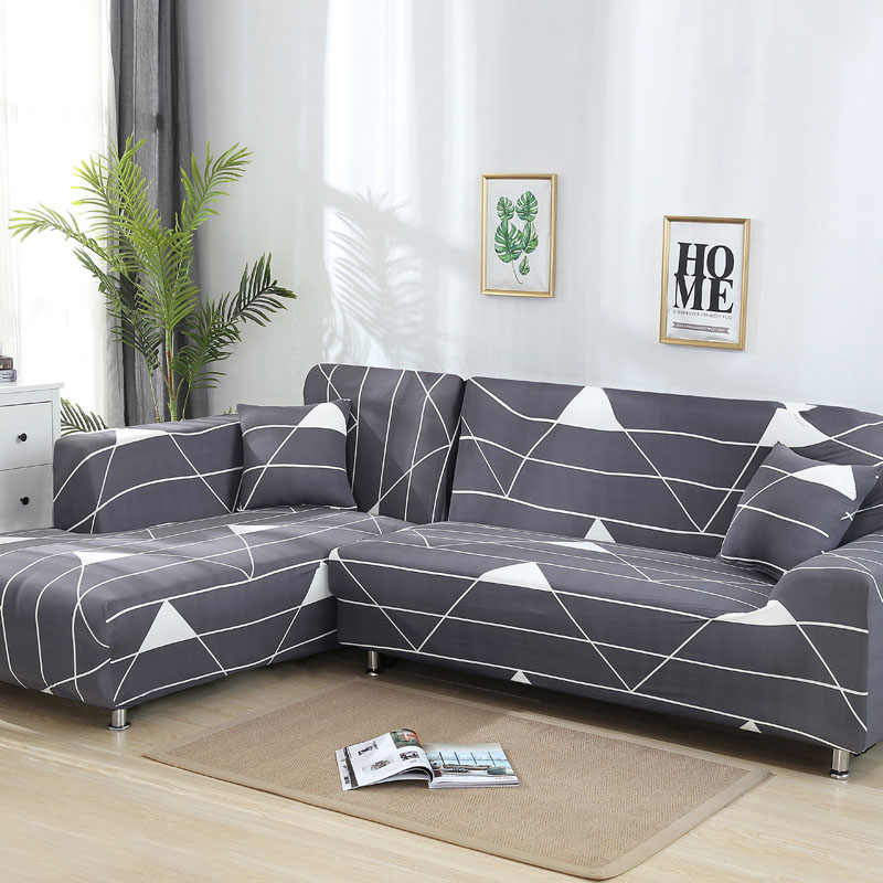 l shaped sofa cover stretch sectional couch cover sofa set sofa covers for living room housse canape slipcover 1 2 3 4 seater