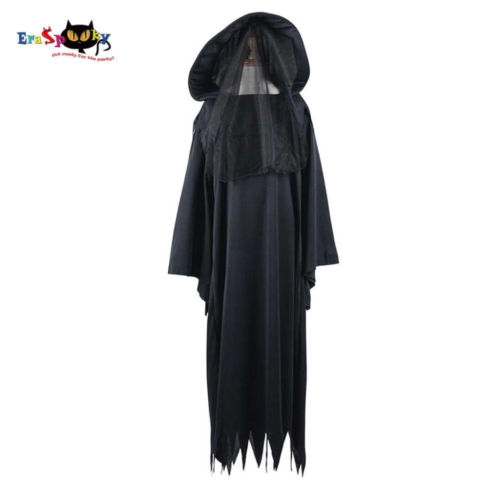 d1d69501c5 Boy Ghost Specter Spirit Costume Scary Vampire Costume Witch Cosplay  Halloween Costume Fantasy Dress for Children