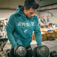 Autumn Winter New Men Fashion Brand Hoodies Gyms Fitness Bodybuilding Sweatshirt Pullover Sportswear Male Casual Clothing