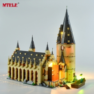 MTELE Led Light Up Kit For 75954 Great Hall Light Set Compatible With 16052 (NOT Include The Model)|Blocks| |  -