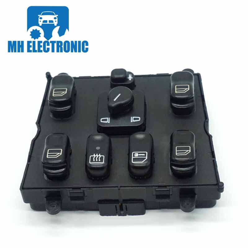 MH Electronic Window Master Switch A 163 820 6610 For Mercedes-Benz ML320 W163 ML270 ML400 ML430 ML500 A 1638206610 03751566