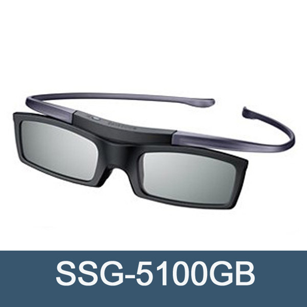 Official Original 3D glasses ssg-5100GB 3D Bluetooth Active Eyewear Glasses for all Samsung 3D TV series Free Shipping(China)