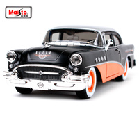 Maisto 1:26 Harley 1965 BUICK DENTURY Modern Muscle Involving Cars Old Car Diecast Model Car Toy New In Box Free Shipping 32197