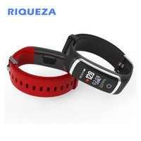 RIQUEZA M4 Smart Bracelet Sleep Monitor Bluetooth Fitness Tracker Call Reminder Take Photos Sport Wristband for iOS Android